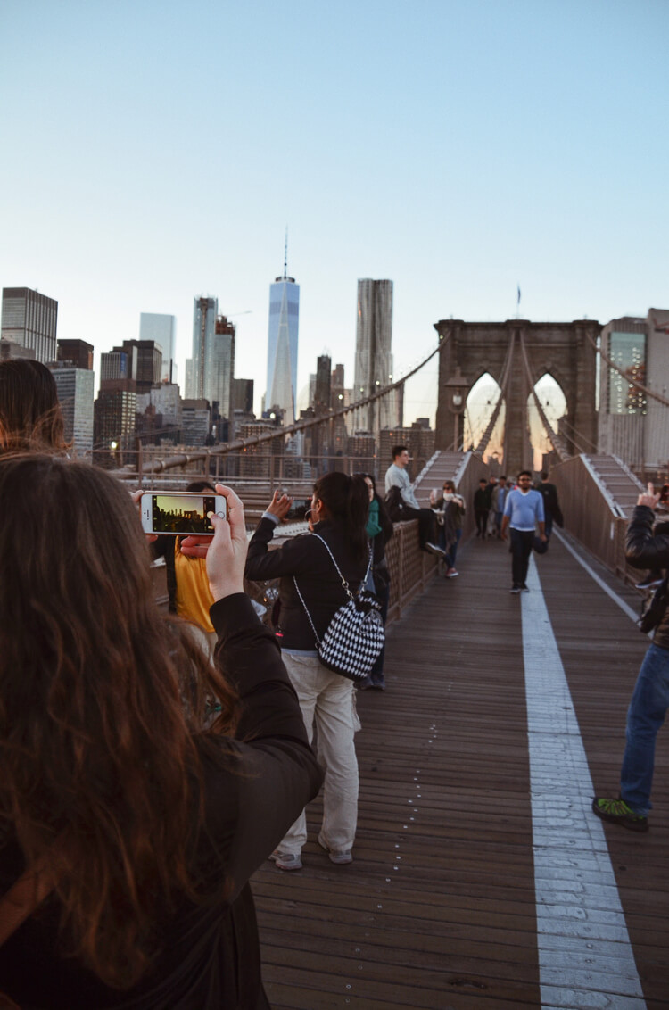 Authentisch Reisen: Brooklyn Bridge